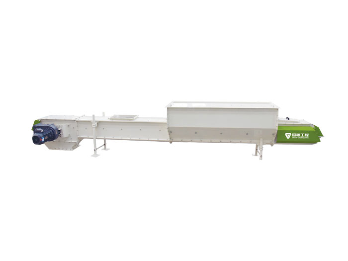 Small and medium-sized conveying equipment-TDSU series self-cleaning scraper conveyor